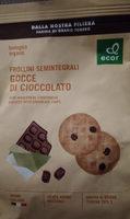 Gocce di Cioccolato - Prodotto