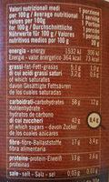 Cio-co Quick - Nutrition facts