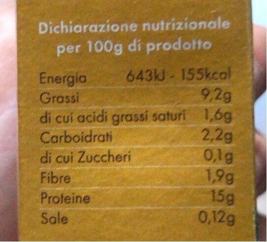 Tofu L'originale - Informazioni nutrizionali - it