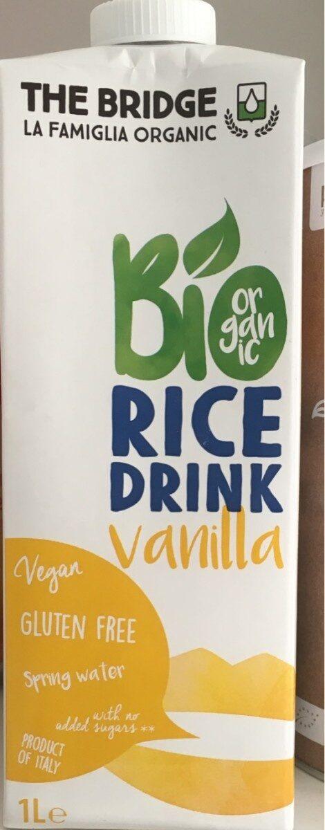 Bio Rice Drink Vanillia - Produit - fr