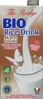 "Bebida de arroz ecológica ""The Bridge"" con cebada tostada - Producte"