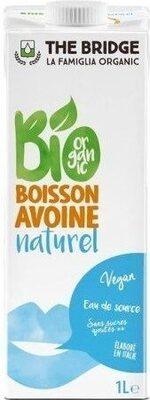 Boisson avoine naturel - Produit - fr