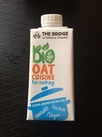 Bio oat cuisine for cooking - Product - fr