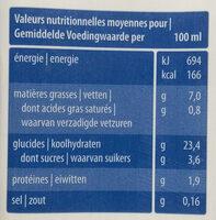 Rice Cuisine (crème de riz) - Voedigswaarden