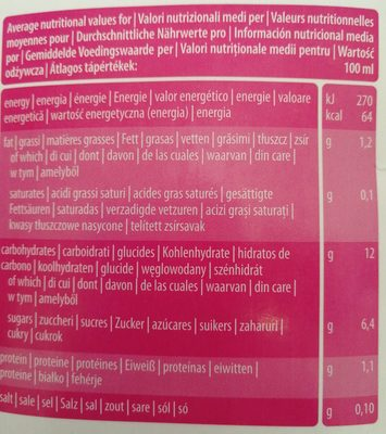 Boisson Végétale Quinoa Bio & Sans Gluten - Nutrition facts - fr