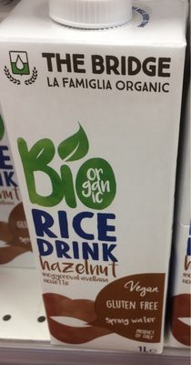 Bio drink Rice + noisettes - Product