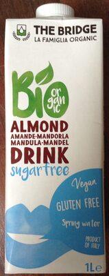 Latte Di Mandorla Senza Zucchero 1L - Produit - fr