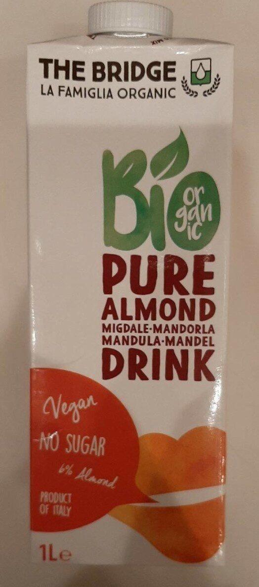 Pure almond drink - Продукт - en