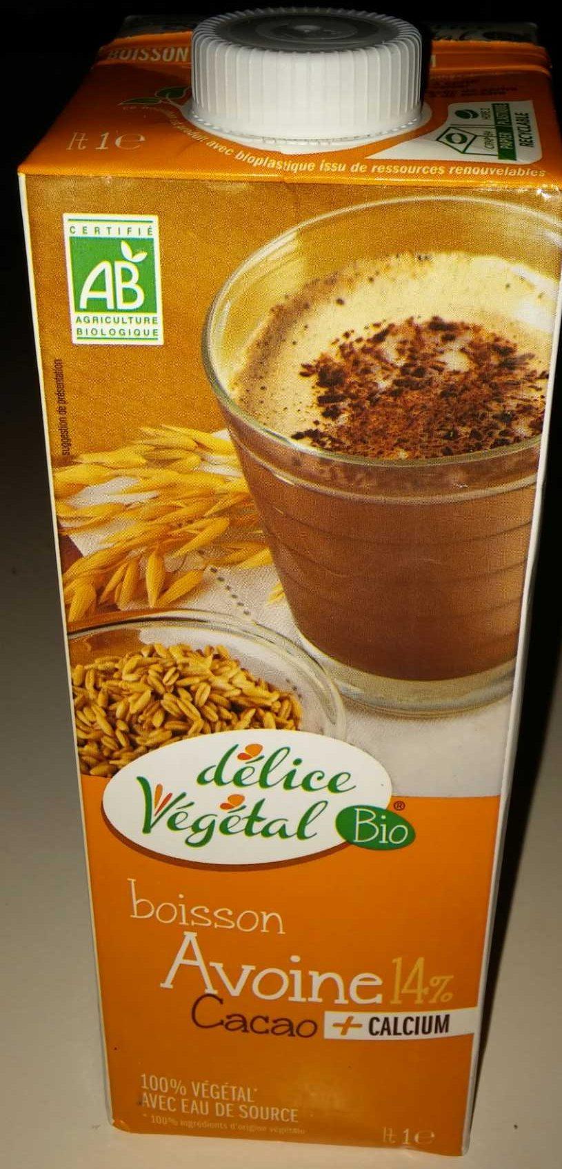 Boisson Avoine 14 % cacao - Produit - fr