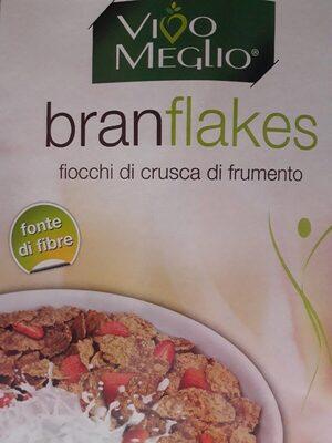 branflakes / fiocchi di crusca di frumento - Produit
