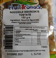 Fruit&Snack - Valori nutrizionali - it