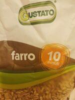 Farro - Informations nutritionnelles - it