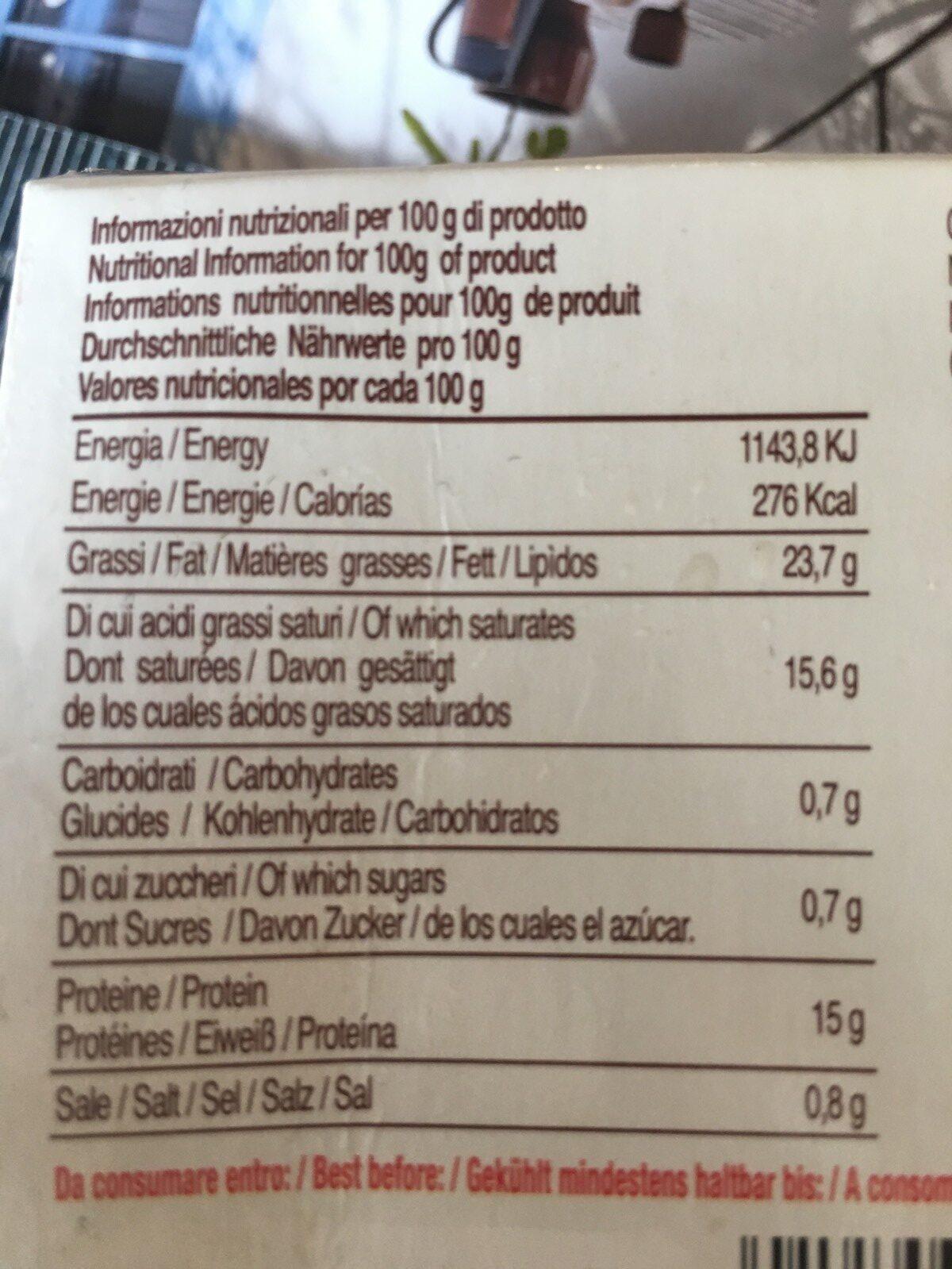 Mozarella - Ingrediënten
