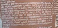 MIKO CAFE ZERO MOCACCINO - Ingrediënten