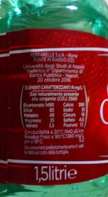 Acqua Minerale - Produkt - it