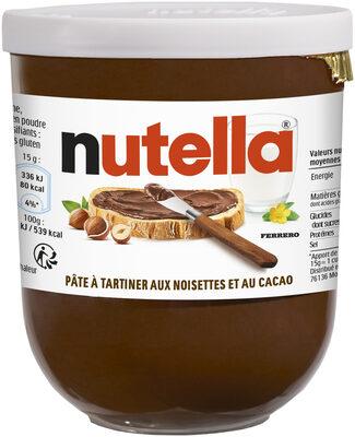 Nutella pate a tartiner noisettes-cacao t200 pot de 200 gr - Prodotto - fr