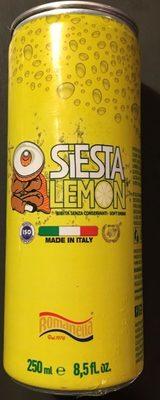 Siesta Lemon - Produit - fr