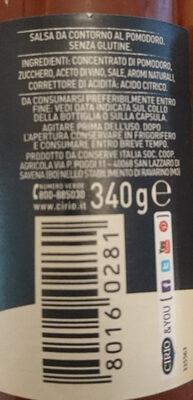 Rubra - Ingredienti - it