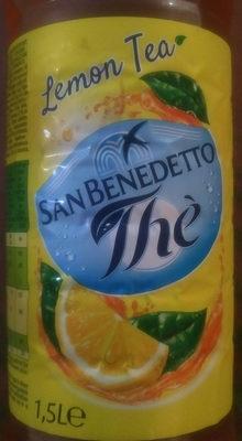 San Benedetto Ice Tea Lemon - Informations nutritionnelles
