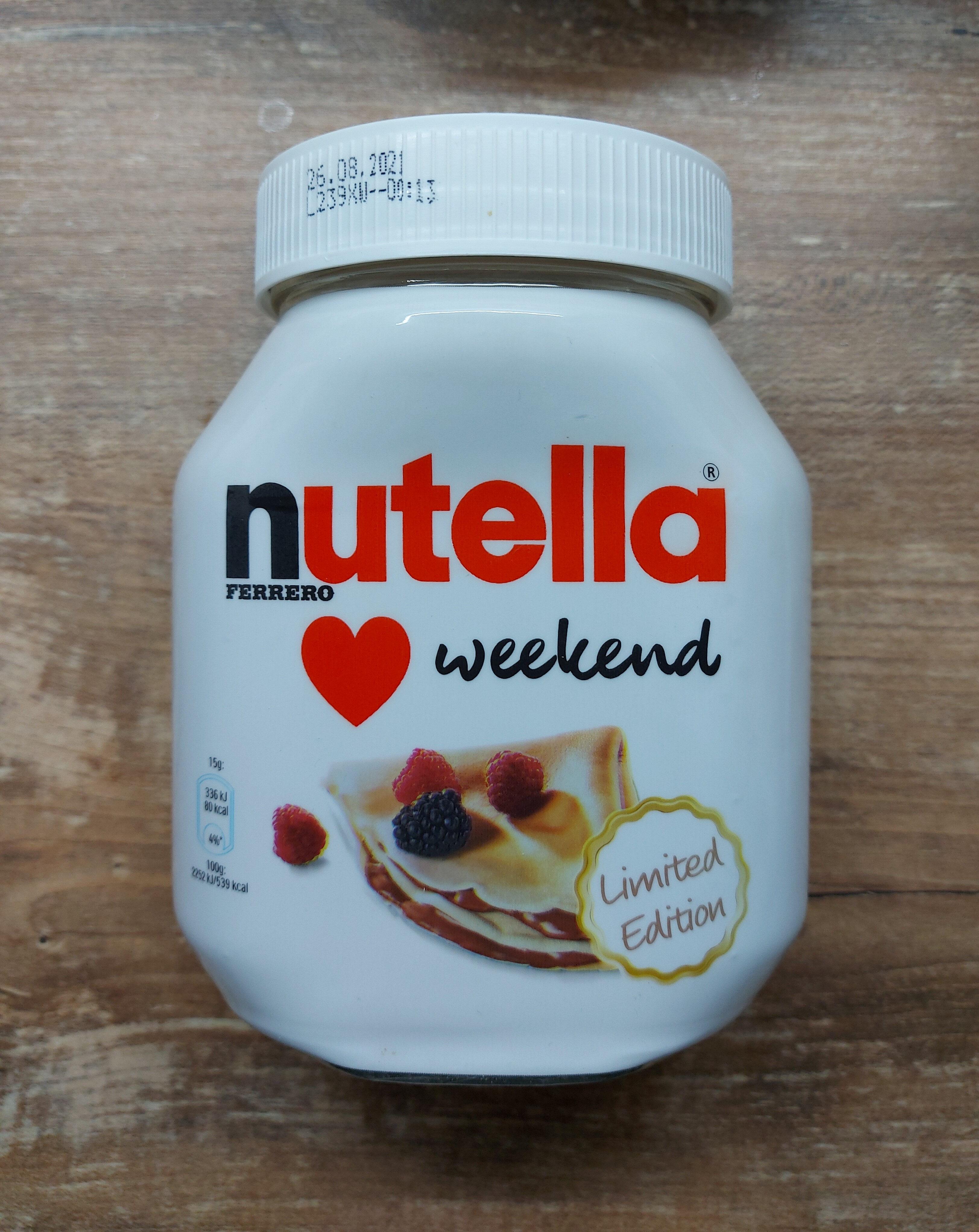 Nutella - نتاج - en