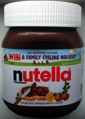 Nutella Hazelnut Spread With Cocoa - Product - en