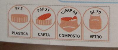 Nutella - Istruzioni per il riciclaggio e/o informazioni sull'imballaggio - it