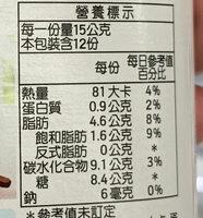 Nutella - 营养成分 - zh