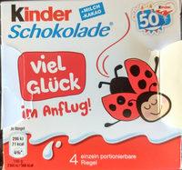 Kinder Schokolade - Produkt - de