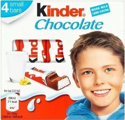 Kinder Chocolat - Product - en