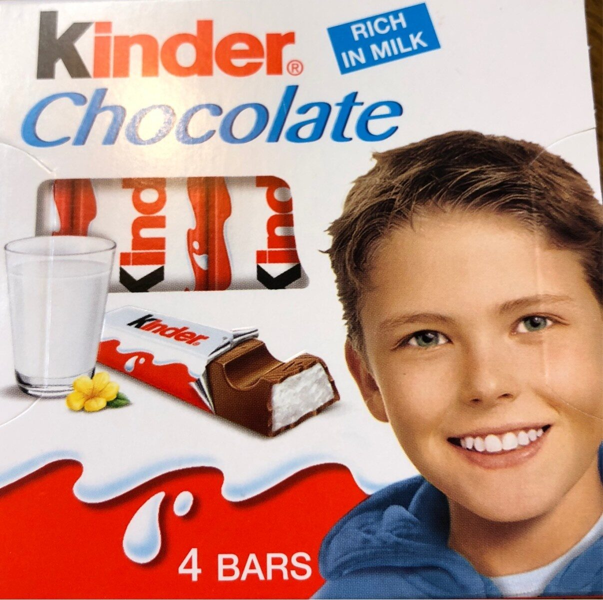 Kinder Chocolate - Produto - en
