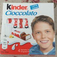 Kinder Cioccolato - Product
