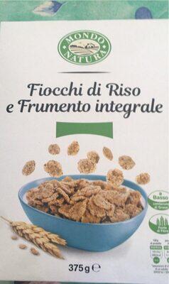 fiocchi di riso e frumento integrale - Product - it