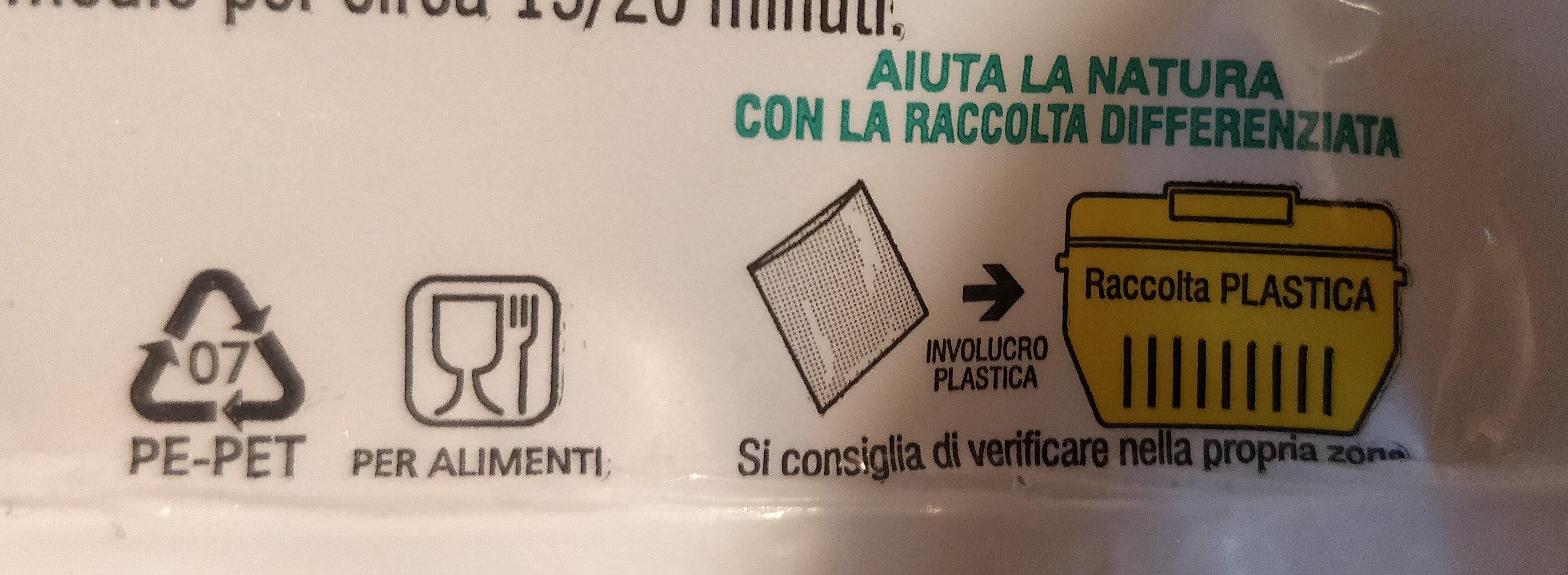filetti di pesce San Pietro - Recyclinginstructies en / of verpakkingsinformatie - it