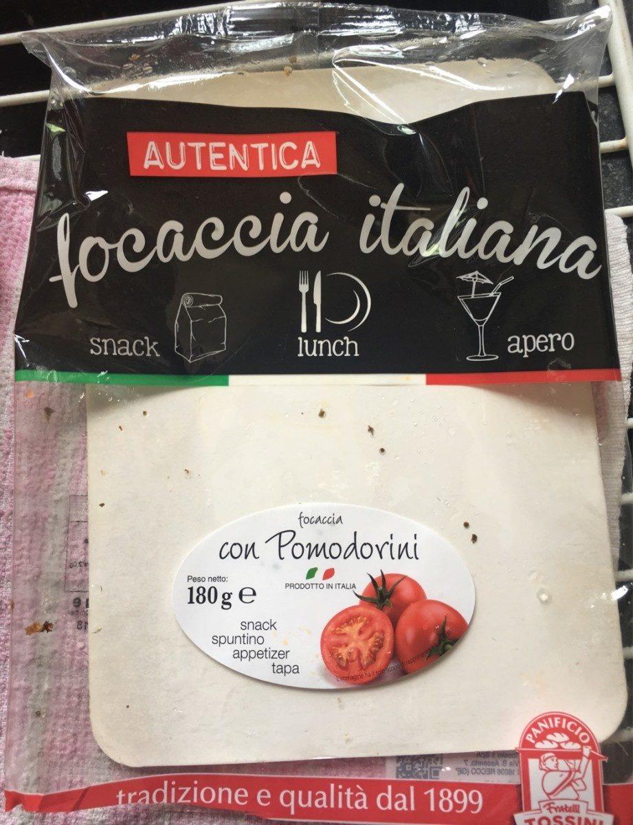 Focaccia italiana - Product