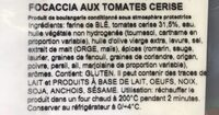 Focaccia italiana - Ingrediënten