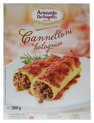 Cannelloni bolognese - Product