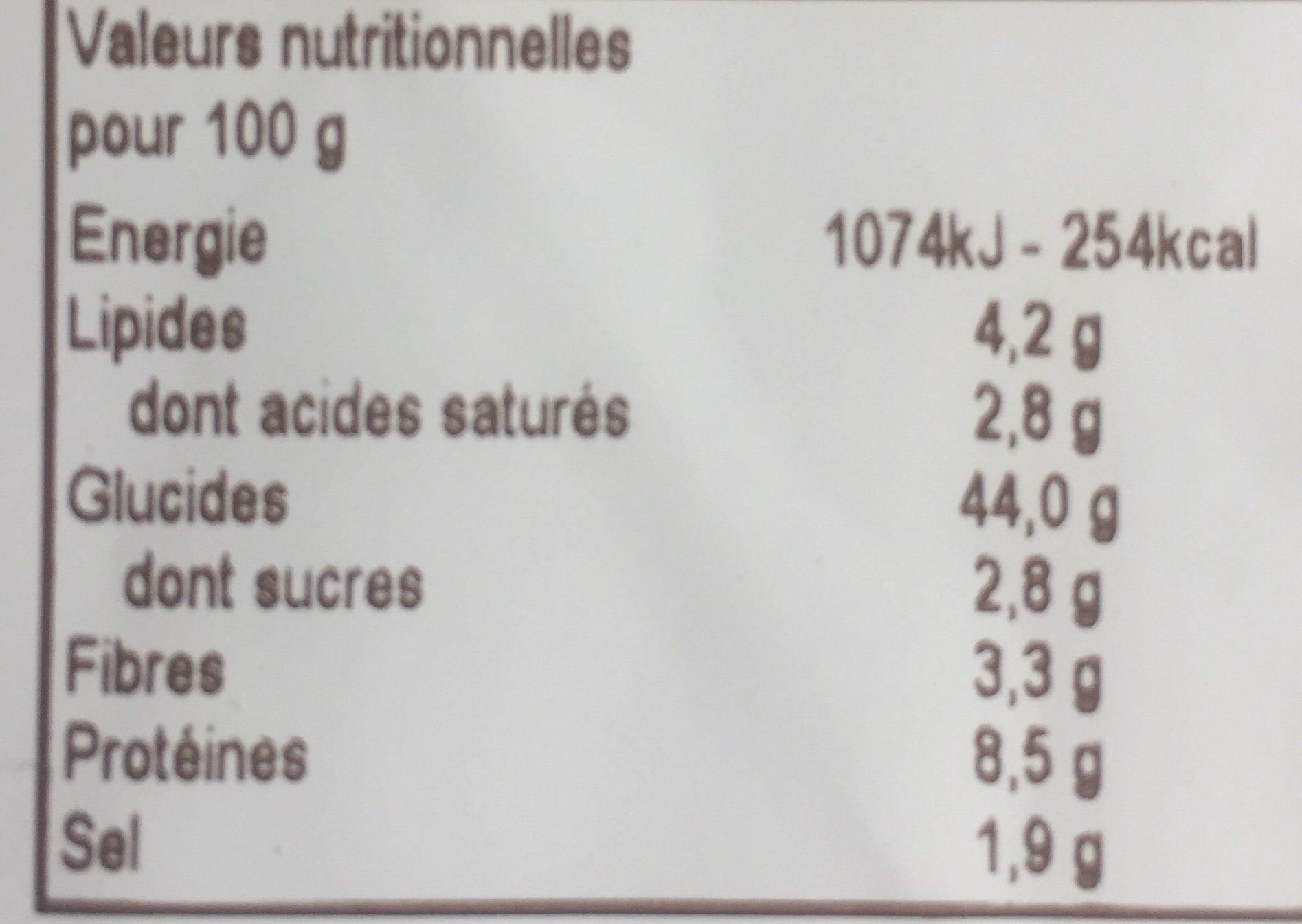 Tortelli Ricotta Épinards sans œufs - Voedigswaarden