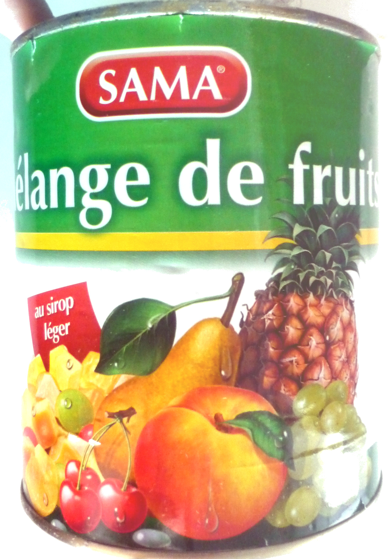 M lange de fruits au sirop l ger sama 820 g - Fruits au sirop maison ...