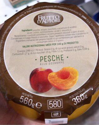 Pesche - Produit - it
