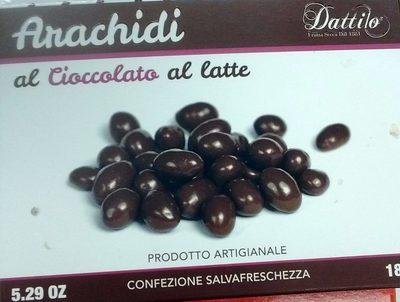 Arachides enrobées de chocolat au lait - Product