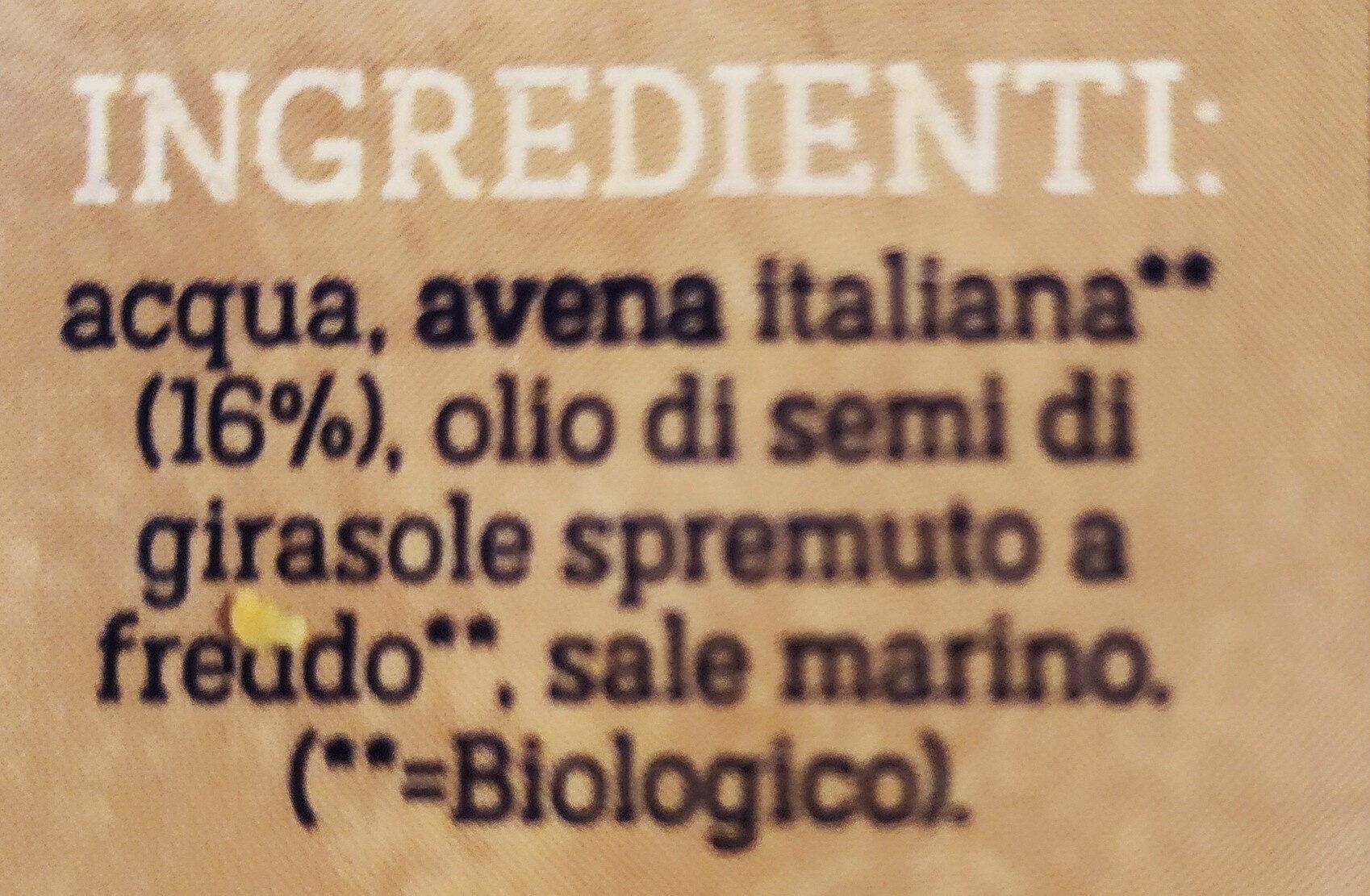 Lait avoine original - Ingredienti - it