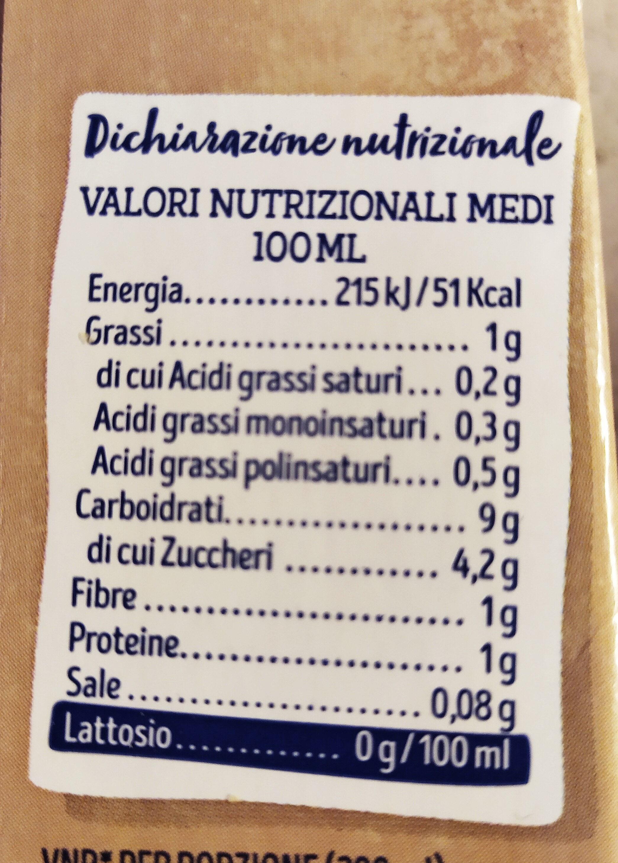 Lait avoine original - Informazioni nutrizionali - it