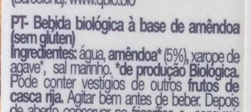 Almendra - Ingredientes - pt