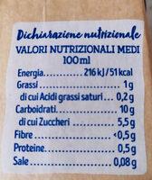 Boisson Riz Brun - Informazioni nutrizionali - fr