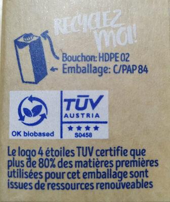 Boisson Riz Brun - Istruzioni per il riciclaggio e/o informazioni sull'imballaggio - fr