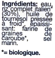 Cuisine riz - Ingredientes