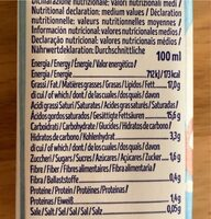 Cuisine coco - Nutrition facts - fr