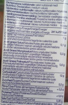 Boisson Riz Calcium - Informations nutritionnelles - fr