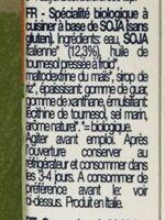 Crema Di Soia Da Cucina - Ingrediënten - fr