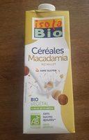 Boisson végétal macadamia riz millet - Produit